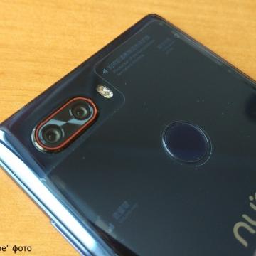 Смартфон ZTE Nubia Z17S (8 + 128 Гб), стеклянный корпус с металлической рамой, 2 SIM-карты, 2G GSM + 3G WCDMA + 3G CDMA + 4G LTE, Snapdragon 835, Adreno 540, 8 Гб RAM + 128 Гб ROM, экран 5,73'' LTPS IPS, 2040 * 1080, 17:9, Gorilla Glass, двойная основная камера 12 MP + 23 MP, двухтоновая светодиодная вспышка, двойная фронтальная камера 5 MP + 5 MP, аккумулятор 3100 мА/ч, сканер отпечатков пальцев, Wi-Fi, Bluetooth 4.1, GPS, OTG, NFC, USB Type-C, Nubia UI 5.1, Android 7.1.1, Киев