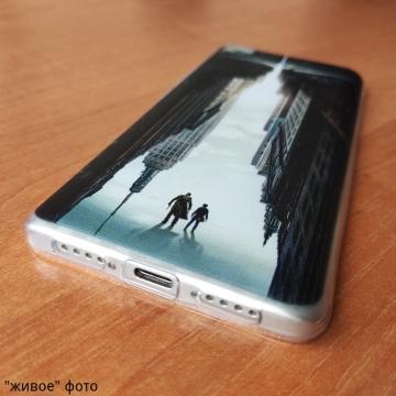 Тематический чехол «Тёмная башня» для смартфона Xiaomi Mi5S, чехол на тему книги Стивена Кинга Тёмная башня / Stephen King The Dark Tower, термополиуретан, накладки на кнопки регулировки громкости, прозрачный с рисунком, Киев