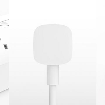 Удлинитель Xiaomi Mijia Power Strip 4, огнеупорный поликарбонат, термоустойчивость до 750 ℃, медный кабель, бронзовые контакты, 4 универсальные розетки (EU, UK, US, AU, CN) + 3 порта USB, отдельный выключатель со светодиодным индикатором для каждой из четырёх розеток, 250 В, 10 А, 2500 Вт, USB до 3,1 А, несколько уровней защиты, нескользящие ножки, белый, Киев