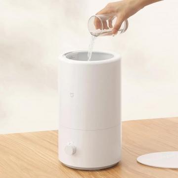 Увлажнитель воздуха Xiaomi Mijia Smart Humidifier, MJJSQ04DY, ABS пластик, объём резервуара для воды: 4 л, до 14-30 часов работы на одной заправке, заливка воды через верх, расход воды: 300 ± 50 мл/ч, антибактериальная обработка воды ионами серебра, высокочастотный ультразвуковой резонатор с керамическим сердечником, 4 режима интенсивности увлажнения, автоматический режим, подсветка, управление автономное или через программу Mi Home, уровень шума: ≤ 32 дБ, белый, Киев