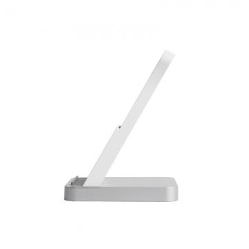 Вертикальное беспроводное зарядное устройство Xiaomi Vertical Wireless Charger (с поддержкой быстрой зарядки 30 Вт и активным воздушным охлаждением), протокол беспроводной зарядки Qi, возможность зарядки смартфона в защитном чехле, система активного воздушного охлаждения,тихий вентилятор с автоматической регулировкой мощности вращения в зависимости от температуры, защита от перегрузок, перегрева, попадания инородных металлических объектов, световая индикация режима зарядки, USB Type-C, белый, Киев