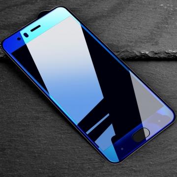 Защитное стекло Bonaier (3D Full Glue) для смартфона Xiaomi Mi6, клеится к экрану смартфона всей поверхностью, 9H, не влияет на чувствительность сенсора, не искажает цвета, антибликовое покрытие, олеофобное покрытие, стекло с закруглёнными краями 2.5D, 2,5D, прозрачное с чёрной или синей рамкой, набор для подклеивания краёв защитного стекла, Киев