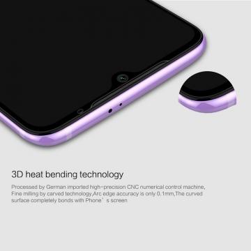 Защитное стекло Nillkin 3D CP+Max (Full Glue) для смартфона Xiaomi Mi9, закалённое стекло, бронированное стекло, клеится к экрану смартфона всей поверхностью, 9H, толщина 0,33 мм, не влияет на чувствительность сенсора, не искажает цвета, антибликовое покрытие, олеофобное покрытие, стекло с закруглёнными краями 2.5D, 2,5D, 3D, 5D, 6D, прозрачное с чёрной или белой рамкой, liquid, Киев