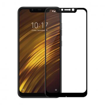 Защитное стекло Nillkin CP+ (3D Full Glue) для смартфона Xiaomi Pocophone F1 / Xiaomi Poco F1, закалённое стекло, бронированное стекло, клеится к экрану смартфона всей поверхностью, 9H, толщина 0,2 мм, не влияет на чувствительность сенсора, не искажает цвета, антибликовое покрытие, олеофобное покрытие, стекло с закруглёнными краями 2.5D, 2,5D, 3D, 5D, 6D, прозрачное с чёрной или белой рамкой, liquid, Киев