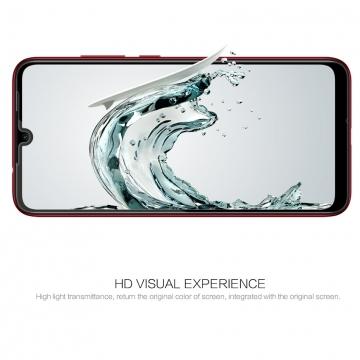 Защитное стекло Nillkin CP+ (3D Full Glue) для смартфона Xiaomi Redmi 7, закалённое стекло, бронированное стекло, полноэкранное стекло, полноклейка, клеится к экрану смартфона всей поверхностью, 9H, толщина 0,2 мм, не влияет на чувствительность сенсора, не искажает цвета, антибликовое покрытие, олеофобное покрытие, стекло с закруглёнными краями 2.5D, 2,5D, 3D, 5D, 6D, прозрачное с чёрной или белой рамкой, liquid, Киев