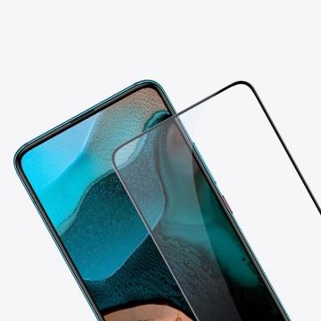 Защитное стекло Nillkin CP+Pro (3D Full Glue) для смартфона Xiaomi Redmi K30 Pro / Xiaomi Poco F2 Pro, закалённое стекло, бронированное стекло, полноэкранное стекло, полноклейка, клеится к экрану смартфона всей поверхностью, 9H, толщина 0,33 мм, не влияет на чувствительность сенсора, не искажает цвета, антибликовое покрытие, олеофобное покрытие, стекло с закруглёнными краями 2.5D, 2,5D, 3D, 5D, 6D, прозрачное с чёрной или белой рамкой, liquid, Киев
