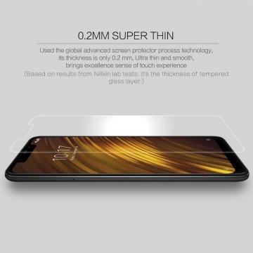 Защитное стекло Nillkin H+Pro для смартфона Xiaomi Pocophone F1 / Xiaomi Poco F1, закалённое стекло, бронированное стекло, 9H, толщина 0,2 мм, 2,5D, 2.5D, антибликовое покрытие, олеофобное покрытие, Киев