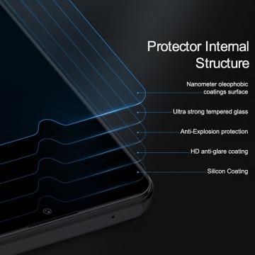 Защитное стекло Nillkin H+Pro для смартфона Xiaomi Redmi 8 / Redmi 8A, закалённое стекло, бронированное стекло, 9H, толщина 0,2 мм, 2,5D, 2.5D, антибликовое покрытие, олеофобное покрытие, Киев