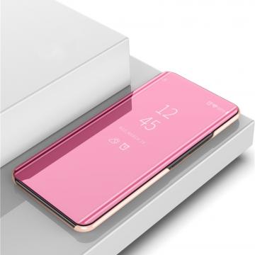Зеркальный чехол-книжка-подставка Mirror Case для смартфона Xiaomi Poco M3 / Xiaomi Redmi Note 9 4G (China), противоударный чехол, пластик + полиуретан, смарт-чехол (при открытии чехла экран включается), Kview Magic Mirror, возможность трансформации чехла в подставку для просмотра видео, чёрный, синий, фиолетовый, золотой, розовый, серебряный, Киев