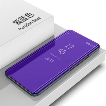 Зеркальный чехол-книжка-подставка Mirror Case для смартфона Xiaomi Redmi 6, противоударный чехол, пластик + полиуретан, смарт-чехол (при открытии чехла экран включается), Kview Magic Mirror, возможность трансформации чехла в подставку для просмотра видео, чёрный, синий, фиолетовый, золотой, серебряный, розовый, Киев