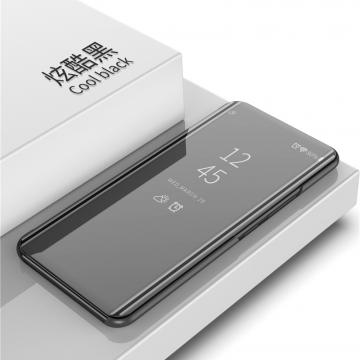 Зеркальный чехол-книжка-подставка Mirror Case для смартфона Xiaomi Redmi 7, противоударный чехол, пластик + полиуретан, смарт-чехол (при открытии чехла экран включается), Kview Magic Mirror, возможность трансформации чехла в подставку для просмотра видео, чёрный, синий, фиолетовый, золотой, розовый, Киев
