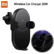 Автомобильное беспроводное зарядное устройство Xiaomi Wireless Car Charger с поддержкой быстрой зарядки 20 Вт, ширина заряжаемого смартфона: 81,5 мм, максимальная мощность зарядки 20 Вт, инфракрасный сенсор, зарядное расстояние: до 4 мм, возможность зарядки смартфона в защитном чехле, двойная система охлаждения, вентилятор с автоматической регулировкой мощности, защита от замыканий, перегрузок, перегрева, от попадания инородных металлических объектов, USB Type-C, чёрный, Киев