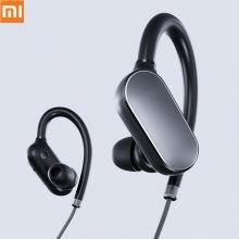 Беспроводная гарнитура Xiaomi Mi Sports Bluetooth Headset, внутриканальные, сплав из анодированного алюминия, bluetooth 4.1, одновременное подключение двух устройств, пульт управления, регулировка громкости на наушнике, микрофон MEMS (микроэлектромеханические системы) Akustica, Bosch Group, система шумоподавления, аккумулятор: 110 мА/ч, 7 ч воспроизведения музыки от одного заряда, 11 дней в режиме ожидания, время заряда гарнитуры 1 час, влагозащита IPX4, работоспособность при любых погодных условиях, Киев