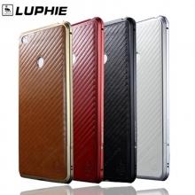 Чехол-бампер Luphie (серия Sword) для смартфона Xiaomi Mi Max, авиационный анодированный алюминий, алюминиевый бампер, бампер состоит из двух частей, скрученных двумя винтиками, в комплект входит отвёртка и 2 запасных винтика, стикер из искусственной кожи на заднюю панель, тканевые накладки на внутренней поверхности рамы для защиты корпуса смартфона, чёрный бампер + чёрная накладка, красный бампер + красная накладка, серебряный бампер + белая накладка, золотой бампер + коричневая накладка, Киев