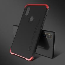 Чехол Element Case Solace для смартфона Xiaomi Mi Mix 2S, корпус из поликарбоната, алюминиевые накладки, бампер состоит из трёх частей, скрученных четырьмя винтиками, в комплект входит отвёртка и 2 запасных винтика, резиновые прокладки на внутренней поверхности рамы для защиты корпуса смартфона со встроенными кнопками регулировки громкости и включения / выключения, фабричная упаковка, Киев