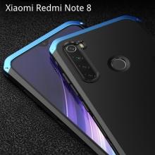 Чехол Element Case Solace для смартфона Xiaomi Redmi Note 8, противоударный бампер, корпус из поликарбоната, алюминиевые накладки, бампер состоит из трёх частей, скрученных четырьмя винтиками, в комплект входит отвёртка и 2 запасных винтика, резиновые прокладки на внутренней поверхности рамы для защиты корпуса смартфона со встроенными кнопками регулировки громкости и включения / выключения, фабричная упаковка, Киев