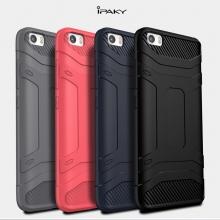 Чехол iPaky для смартфона Xiaomi Mi5, бампер, силикон, термополиуретан, TPU, чёрный, синий, серый, красный, Киев