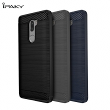 Чехол iPaky для смартфона Xiaomi Mi5S Plus, противоударный бампер, рифлёная резина, чехол с рисунком, силикон, термополиуретан, TPU, чёрный, синий, серый, Киев