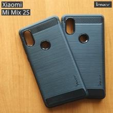 Чехол iPaky для смартфона Xiaomi Mi Mix 2S, противоударный бампер, силикон, термополиуретан, TPU, чёрный, синий, серый, Киев