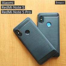 Чехол iPaky для смартфона Xiaomi RedMi Note 5 / RedMi Note 5 Pro, противоударный бампер, силикон, термополиуретан, TPU, чёрный, синий, серый, Киев