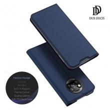 Чехол-книжка Dux Ducis для смартфона Xiaomi Poco X3 / Xiaomi Poco X3 Pro, горизонтальный флип, искусственная кожа, накладка из термополиуретана, встроенные магниты для фиксации чехла в закрытом и открытом состоянии, отделение для платёжных карт / визиток, возможность трансформации чехла в подставку для просмотра видео, чёрный, синий, золотой, розовый, Киев
