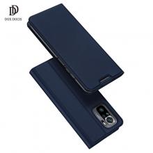 Чехол-книжка Dux Ducis для смартфона Xiaomi Redmi Note 10 / Xiaomi Redmi Note 10S, горизонтальный флип, искусственная кожа, накладка из термополиуретана, встроенные магниты для фиксации чехла в закрытом и открытом состоянии, отделение для платёжных карт / визиток, возможность трансформации чехла в подставку для просмотра видео, чёрный, синий, золотой, розовый, Киев