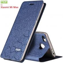 Чехол-книжка MOFI для смартфона Xiaomi Mi Max, противоударный чехол, горизонтальный флип, силиконовая накладка, флип из искусственной кожи, металлическая пластина внутри флипа, смарт-чехол (при закрытии чехла экран выключается), sleep / wake, возможность трансформации чехла в подставку для просмотра видео, чёрный, синий, золотой, серебряный, розовый, Киев