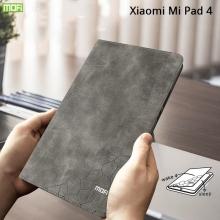 Чехол-книжка MOFI для планшета Xiaomi Mi Pad 4, смарт-чехол, противоударный чехол, горизонтальный флип, силиконовая накладка, флип из искусственной кожи, металлическая пластина внутри флипа, возможность трансформации чехла в подставку для просмотра видео, чёрный, серый, синий, красный, светло-коричневый, Киев