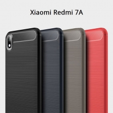 Чехол-накладка для смартфона Xiaomi Redmi 7A, iPaky, противоударный бампер, силикон, термополиуретан, TPU, чёрный, синий, серый, красный, Киев