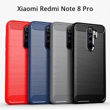 Чехол-накладка для смартфона Xiaomi Redmi Note 8 Pro, iPaky, противоударный бампер, силикон, термополиуретан, TPU, чёрный, синий, серый, красный, Киев