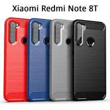 Чехол-накладка для смартфона Xiaomi Redmi Note 8T, iPaky, противоударный бампер, силикон, термополиуретан, TPU, чёрный, синий, серый, красный, Киев