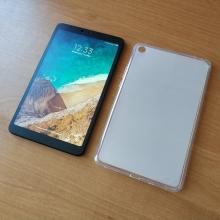 Чехол-накладка для смартфона Xiaomi Mi Pad 4, Xiaomi MiPad 4, противоударный бампер, термополиуретан TPU, эластичность, устойчивость к растяжению, устойчивость к царапинам, накладки на кнопки регулировки громкости и включения / выключения, прозрачный, полупрозрачный, Киев