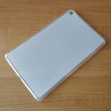 Чехол-накладка для смартфона Xiaomi Mi Pad 4 Plus, Xiaomi MiPad 4 Plus, противоударный бампер, термополиуретан TPU, эластичность, устойчивость к растяжению, устойчивость к царапинам, накладки на кнопки регулировки громкости и включения / выключения, прозрачный, полупрозрачный, Киев