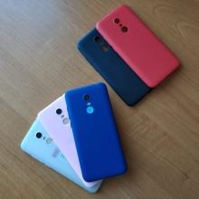 Чехол-накладка для смартфона Xiaomi Redmi 5 Plus, противоударный бампер, термополиуретан TPU, эластичность, устойчивость к растяжению, устойчивость к царапинам, накладки на кнопки регулировки громкости и включения / выключения, двойное отверстие для крепления ремешка, чёрный, синий, красный, розовый, белый (полупрозрачный), Киев