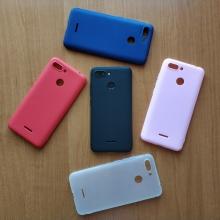 Чехол-накладка для смартфона Xiaomi Redmi 6, противоударный бампер, термополиуретан TPU, эластичность, устойчивость к растяжению, устойчивость к царапинам, накладки на кнопки регулировки громкости и включения / выключения, двойное отверстие для крепления ремешка, чёрный, синий, красный, розовый, белый (полупрозрачный), Киев