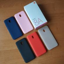 Чехол-накладка для смартфона Xiaomi Redmi 8A, противоударный бампер, термополиуретан TPU, эластичность, устойчивость к растяжению, устойчивость к царапинам, накладки на кнопки регулировки громкости и включения / выключения, двойное отверстие для крепления ремешка, чёрный, синий, красный, розовый, белый (полупрозрачный), Киев