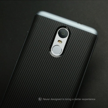 Чехол-накладка U-Case для Xiaomi RedMi Note 3 / RedMi Note 3 Pro (рисунок «под карбон»), iPaky