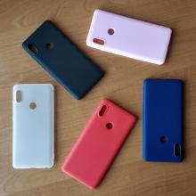 Чехол-накладка для смартфона Xiaomi Redmi Note 5 / RedMi Note 5 Pro, противоударный бампер, термополиуретан TPU, эластичность, устойчивость к растяжению, устойчивость к царапинам, накладки на кнопки регулировки громкости и включения / выключения, двойное отверстие для крепления ремешка, чёрный, синий, красный, розовый, белый (полупрозрачный), Киев