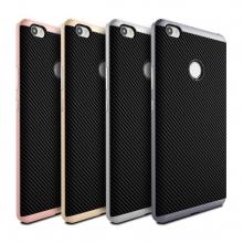 Чехол-накладка U.Case для смартфона Xiaomi Mi Max, рисунок «под карбон», термополиуретан, чёрный, тёмно-серый, серебряный, золотой, розовое золото, Киев