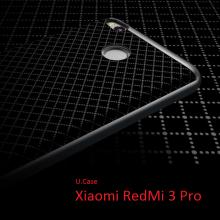 Чехол-накладка U-Case для смартфона Xiaomi RedMi 3 Pro, iPaky, бампер, накладка, резина, термополиуретан, TPU, пластиковая рамка, рисунок в клетку, серый, серебряный, золотой, бронзовый, розовое золото, Киев
