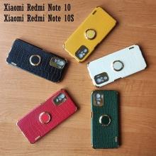 Чехол-накладка X-Case с покрытием под крокодиловую кожу для смартфона Xiaomi Redmi Note 10 / Xiaomi Redmi Note 10S, противоударный бампер, искусственная кожа, рама из пластика, защита углов смартфона «воздушными подушками», в заднюю панель встроена накладка для защиты блока камер, накладка на кнопки регулировки громкости, двойное отверстие для крепления ремешка, металлический шильдик X-Case, в комплект входит съёмное кольцо для пальца, чёрный, красный, зелёный, белый, светло коричневый, Киев