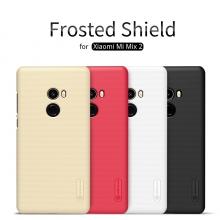 Чехол Nillkin + плёнка для смартфона Xiaomi Mi Mix 2, противоударный бампер, рифлёный пластик, чёрный, белый, золотой, красный, Киев