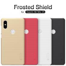 Чехол Nillkin + плёнка для смартфона Xiaomi Mi Mix 2S, противоударный бампер, бронированный чехол, рифлёный пластик, чёрный, белый, золотой, красный, Киев