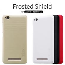 Чехол Nillkin + плёнка для смартфона Xiaomi RedMi 4A, чехол-накладка, бампер, рифлёный пластик, чёрный, белый, золотой, красный, Киев