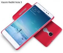 Чехол Nillkin + плёнка для Xiaomi RedMi Note 3 / RedMi Note 3 Pro, пластик, чёрный, белый, красный, золотой, защитная плёнка, Киев