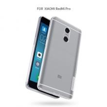 Чехол Nillkin (серия Nature) для смартфона Xiaomi RedMi Pro, бампер, чехол-накладка, термополиуретан, TPU, силикон, прозрачный, заглушки, Киев