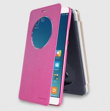 Чехол Nillkin (серия Sparkle) для Xiaomi Mi Max, смарт-чехол, чехол-книжка, горизонтальный флип, пластик, искусственная кожа, PU, чёрный, белый, золотой, розовый, Киев