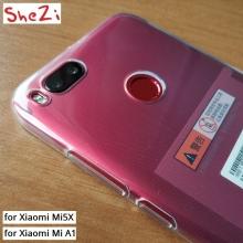 Чехол-накладка Shezi для смартфона Xiaomi Mi5X / Xiaomi Mi A1, противоударный бампер, силикон, термополиуретан, TPU, прозрачный, Киев