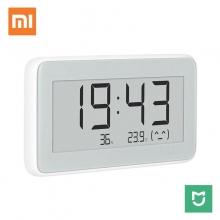 Профессиональный электронный термометр / гигрометр / часы Xiaomi Mijia Electronic Thermometer Pro, LYWSDO2MMC, электронные чернила (e-ink), мониторинг температуры и влажности воздуха в помещении, высокоточный чип определения времени (RTC) и швейцарские сенсоры измерения температуры и влажности (Sensirion), Bluetooth 4.0 BLE, работает с приложением Mijia App (Mi Home), можно включить в разные сценарии системы умного дома через Mijia Bluetooth Gateway, статистика температуры и влажности, CR2032, белый, Киев