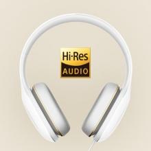 Гарнитура Xiaomi Headphones 2, сертифицирована для Hi-Res Audio, накладные наушники, диафрагма из лёгкого пластика, мягкое оголовье, кнопка для управления воспроизведением музыки и ответов на звонки, микрофон, 20 – 40 000 Гц, 32 Ом, 107 дБ, 50 мВт, штекер 3,5 мм, тканевый мешочек для транспортировки, белый, зелёный, персиковый, Киев